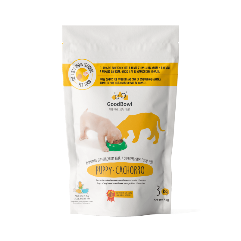 Food for Puppies - 3Kg